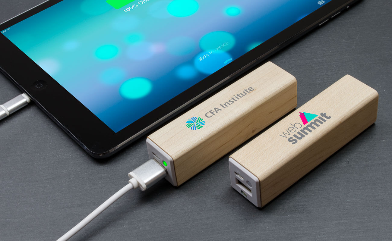 Maple - Batterie Externe Personnalisable