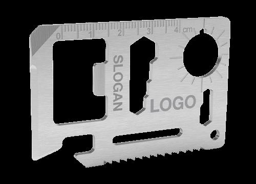 Kit - Outil carte de crédit avec gravure