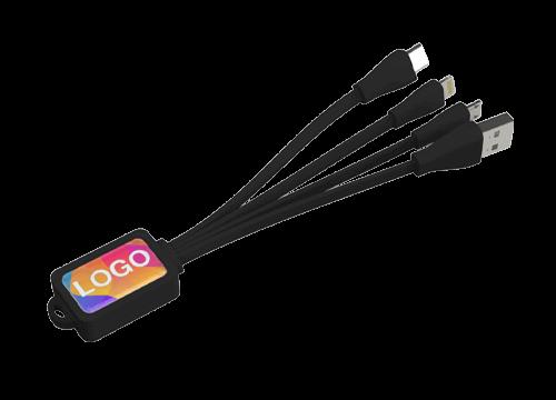 Multi - Câble de recharge USB Octopus marqué