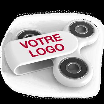 Sport Plus - Hand Spinner avec Logo