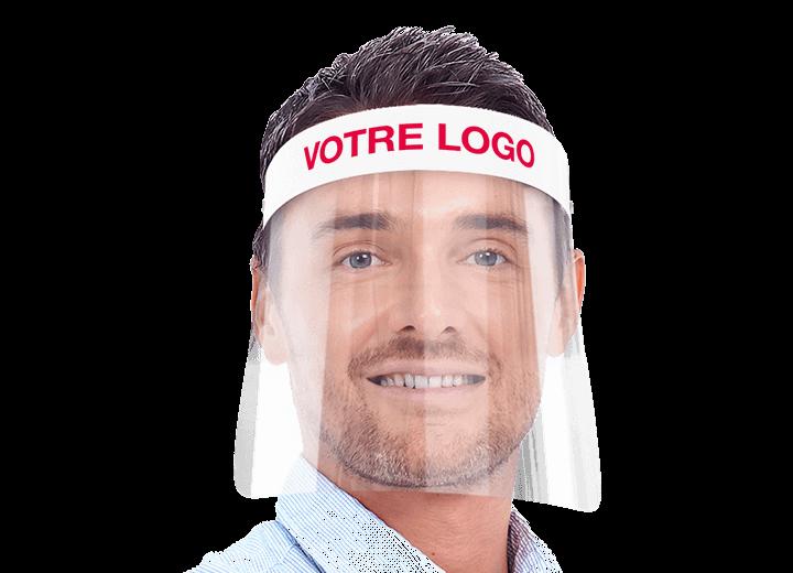 Barrier - Visière de protection avec logo