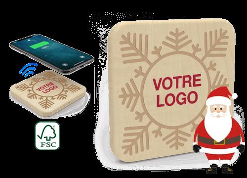 Forest Christmas - Chargeur Sans Fil Personnalisable
