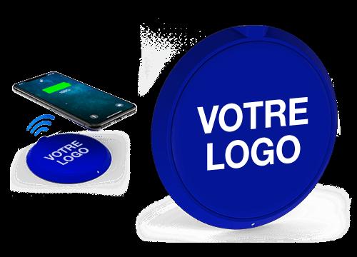 Loop - Chargeur Sans Fil Personnalisable Pas Cher
