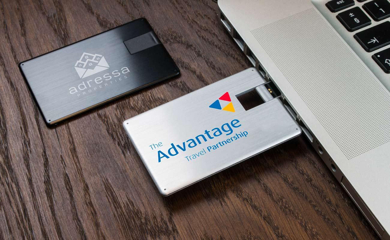 Alloy - Clé USB Carte De Crédit