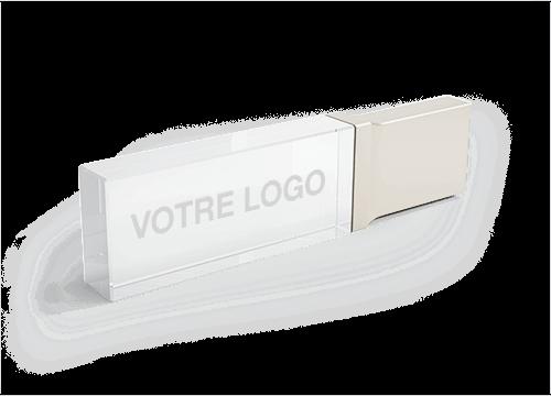 Crystal - Cles USB en Verre