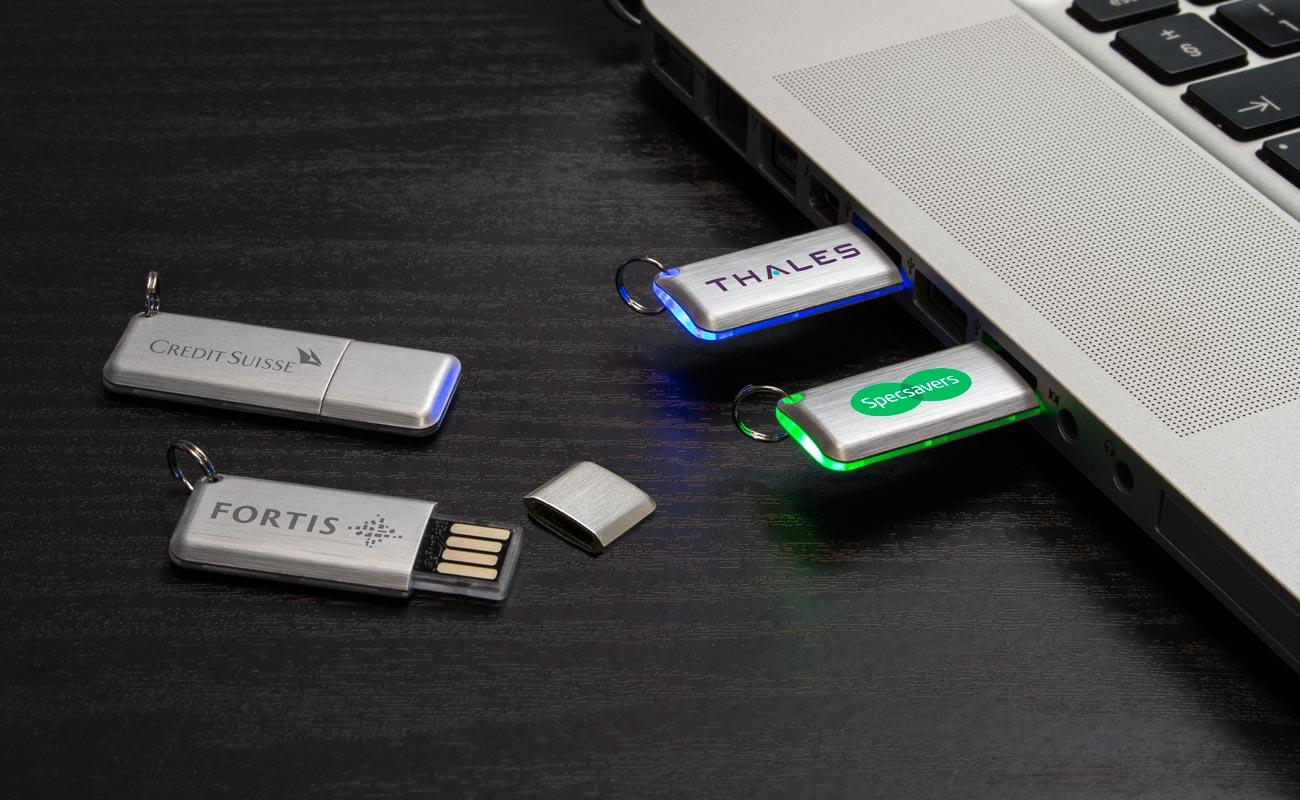 Halo - Clé USB Personnalisée