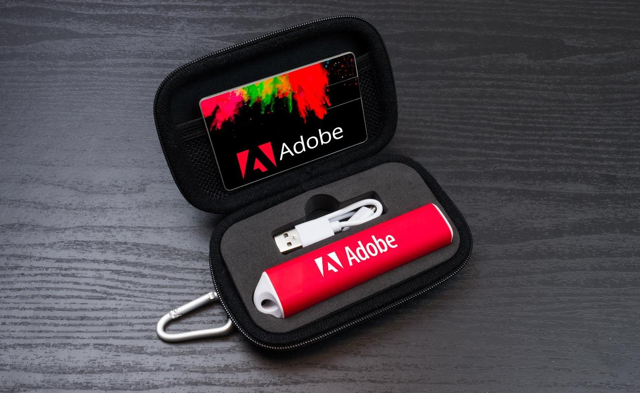 Impact S - Clé USB Personnalisée et Batterie Externe Personnalisable