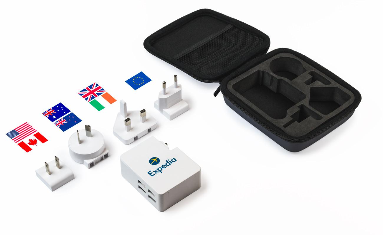 Latitude - Chargeur Multiprise USB Personnalisé
