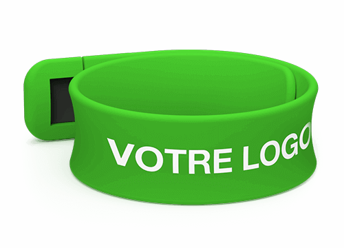 Slap - Bracelet Personnalisé Silicone