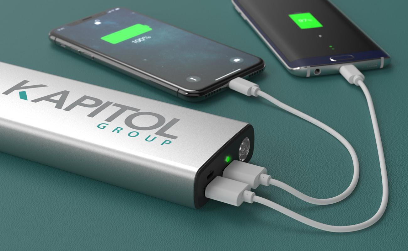 Titan - Batterie Externe Personnalisable