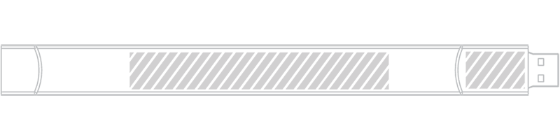 Bracelet USB Sérigraphie